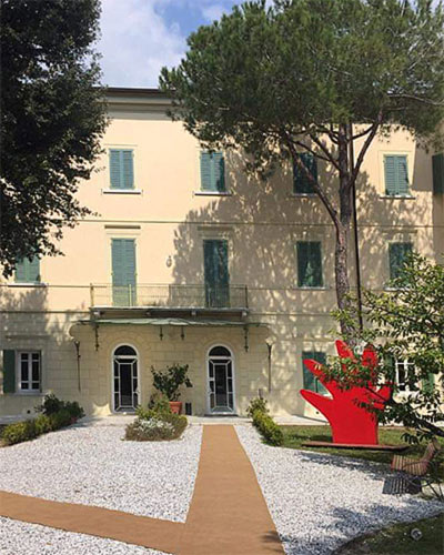 Villa Bertelli Forte dei Marmi